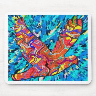 Angel Bird Mouse Pad