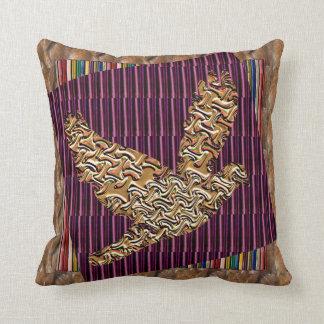 Angel Bird using RareEarth Stones Textures Pattern Pillows