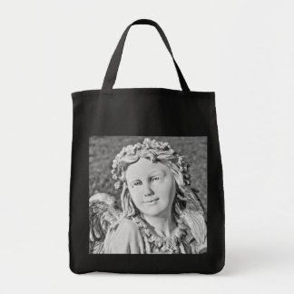 Angel Black and White Bag
