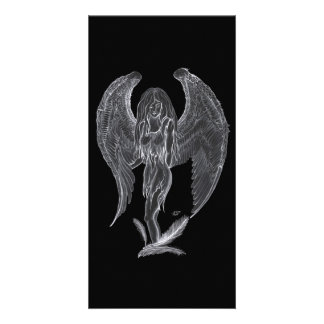 Angel - Black and white Design Card