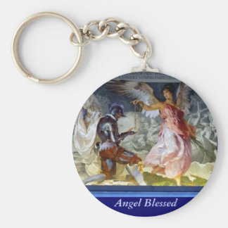 Angel Blessed Keychain