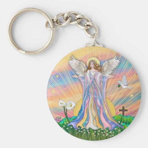 Angel Blessing Keychain
