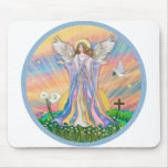 Angel Blessing Mouse Mats