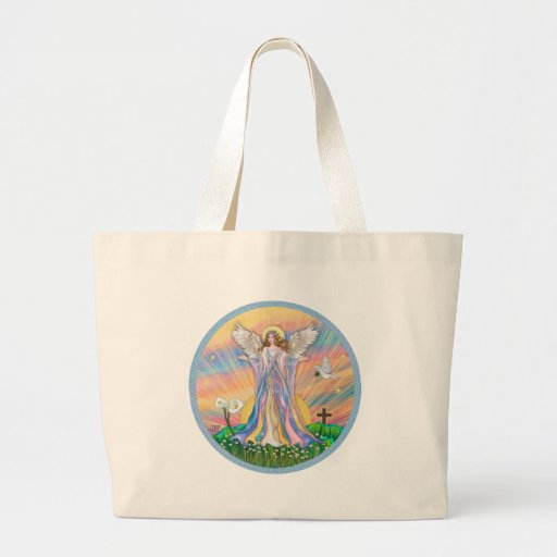 Angel Blessing (wreathed) Bag
