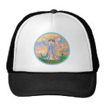 Angel Blessing (wreathed) Mesh Hat
