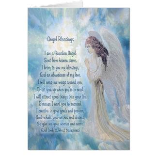 Angel Blessings Card