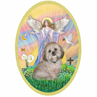 Angel Blessings - Lhasa Apso 11 Cutout