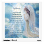 Angel Blessings Poem Wall Graphic