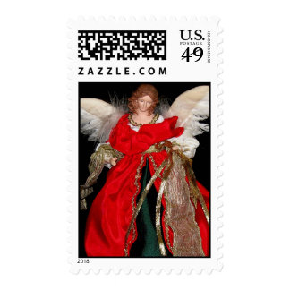 Angel Blessings Postage Stamp