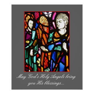 Angel Blessings Print