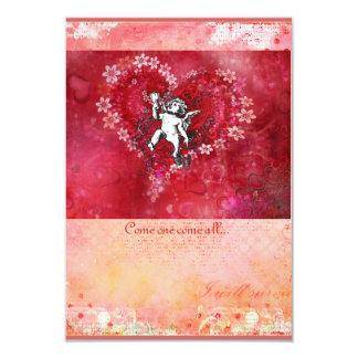 Angel Blessings Valentine Day Invitation