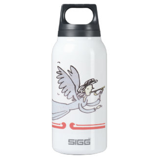 Angel Blowing Horn Insulated Water Bottle