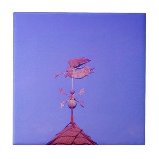 Angel BLOWING HORN WEATHER VANE Ceramic Tiles