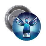 Angel: Blue Angel Button