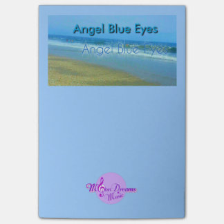 Angel Blue Eyes Post-It Notes