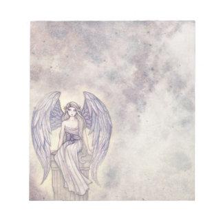 Ángel bonito en las nubes Noetepad Bloc De Papel