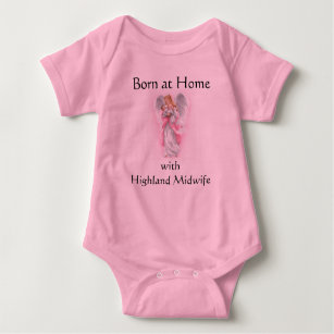 0113d95f9 angel, Born at Home with Highland Midwife Baby Bodysuit