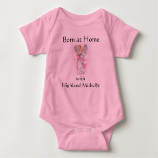 angel, Born at Home with Highland Midwife Tees