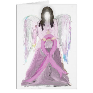Angel Breast Cancer Card
