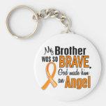 Angel Brother Leukemia Key Chains