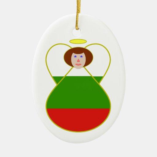 Ángel búlgaro ornamento para arbol de navidad