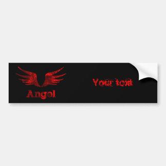 Angel Bumper Sticker