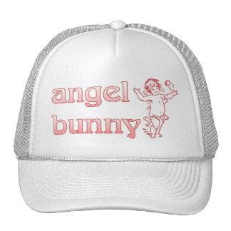 angel bunny trucker hat