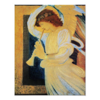 Ángel, Burne Jones Poster