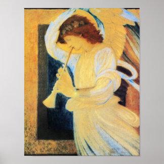 Angel Burne Jones Posters
