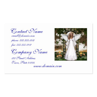 Angel Business Card Template