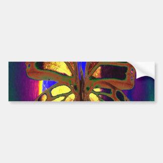 Angel Butterfly Bumper Stickers