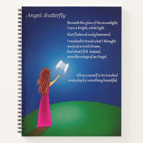 Angel Butterfly Notebook