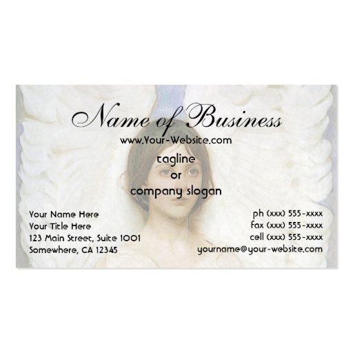 Angel by Abbott Thayer Business Card
