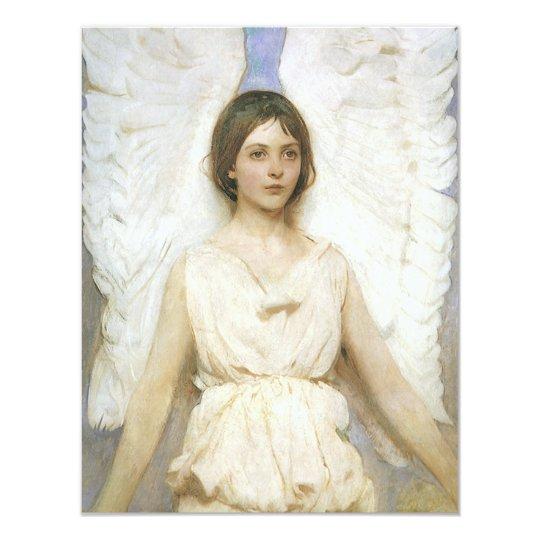 Angel by Abbott Thayer, Vintage Victorian Fine Art Card