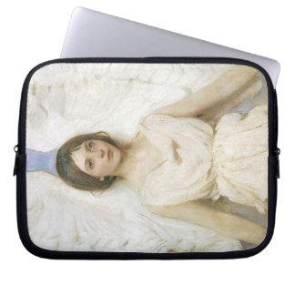 Angel by Abbott Thayer, Vintage Victorian Fine Art Laptop Sleeve