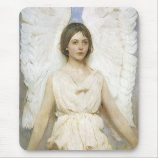Angel by Abbott Thayer, Vintage Victorian Fine Art Mouse Pad