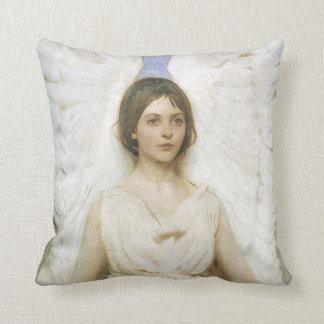 Angel by Abbott Thayer, Vintage Victorian Fine Art Pillow