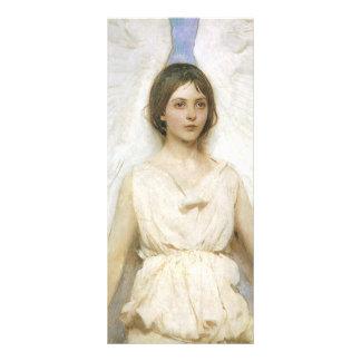 Angel by Abbott Thayer, Vintage Victorian Fine Art Rack Card Template