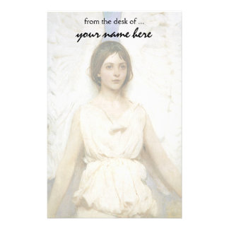 Angel by Abbott Thayer, Vintage Victorian Fine Art Stationery