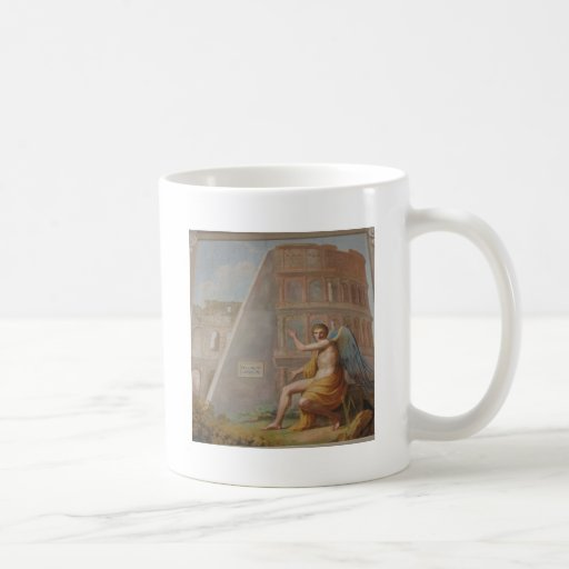 Angel by Ancient Ruins Classic White Coffee Mug