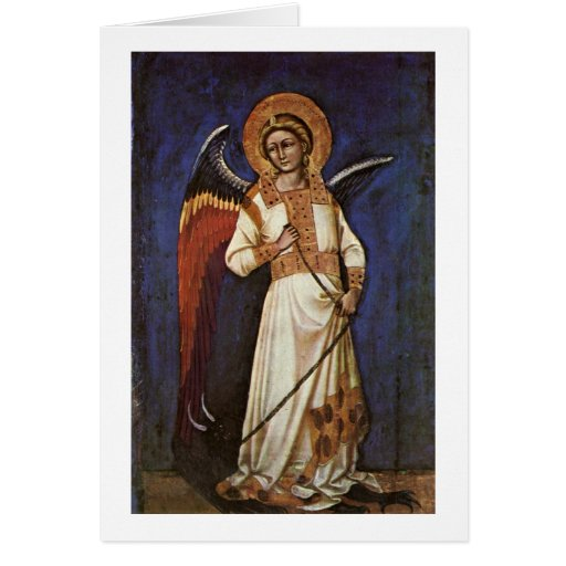 Angel By Guariento Card