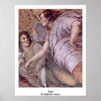 Angel By Raffaello Sanzio Print