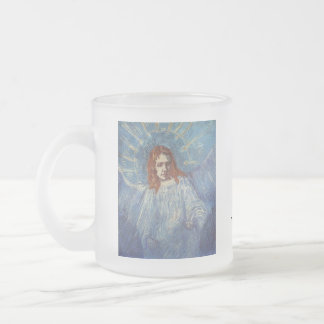 Angel by Vincent van Gogh 10 Oz Frosted Glass Coffee Mug