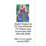Ángel caido, diseños de Digitaces por el KajunMark Plantilla De Tarjeta De Visita