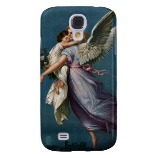 Ángel cajas del teléfono del diseño del vintage de funda para galaxy s4