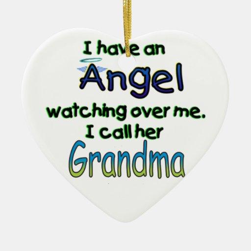 ANGEL CALLED GRANDMA CHRISTMAS TREE ORNAMENTS