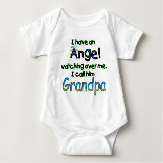 ANGEL CALLED GRANDPA BABY BODYSUIT