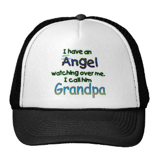 ANGEL CALLED GRANDPA TRUCKER HATS