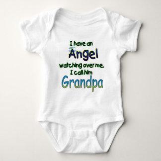 ANGEL CALLED GRANDPA INFANT CREEPER
