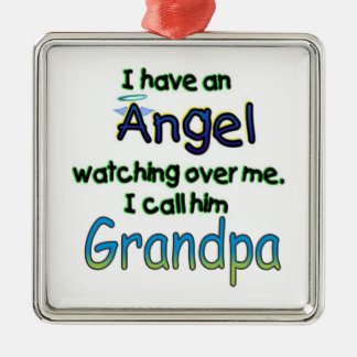 ANGEL CALLED GRANDPA ORNAMENT